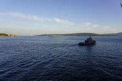 Razzian av Vladivostok Arkivbilder