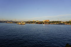 Razzian av Vladivostok Royaltyfria Bilder