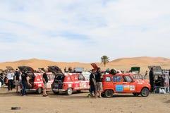razziarenault för 2 l4 morocco trofé Royaltyfria Bilder
