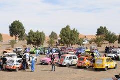 razziarenault för 6 l4 morocco trofé Arkivbilder