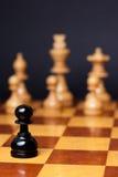 Razzismo di scacchi Fotografia Stock Libera da Diritti