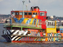 Razzle Mersey ferry Royalty Free Stock Images