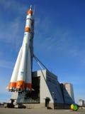 Razzo di Soyuz in samara, Russia fotografie stock