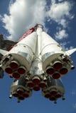 Razzo di spazio russo Immagine Stock