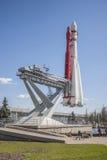 Razzo VDNKh, Mosca di Vostok Fotografia Stock Libera da Diritti