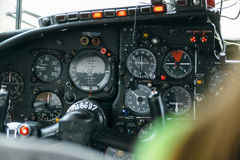 An-24rb en el aeropuerto Imágenes de archivo libres de regalías