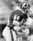 RB John Riggins de Washington Redskins Fotos de Stock Royalty Free