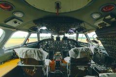 An-24rb no aeroporto Foto de Stock Royalty Free