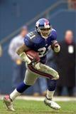 RB Tiki Barber de New York Giants photos stock