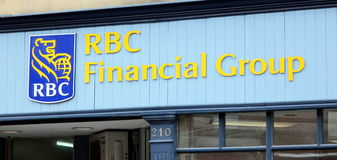 RBC Bank Sign Royalty Free Stock Images