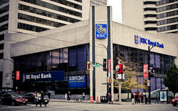 RBC Royal Bank, Vancouver, BC. Stock Photography