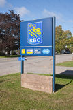 RBC tecken Arkivbild