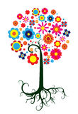 Árbol colorido fantástico Fotografía de archivo