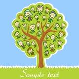Árbol de familia Imágenes de archivo libres de regalías