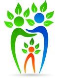 Árbol de familia dental Imagen de archivo libre de regalías