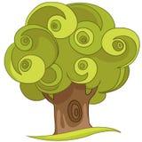 Árbol de la historieta Fotos de archivo libres de regalías