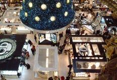 ?rbol de navidad de Swarovski Imagen de archivo libre de regalías