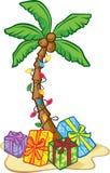 Árbol de navidad hawaiano Fotos de archivo libres de regalías