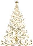 Árbol de navidad - ilustración del vector Imagen de archivo