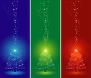 Árbol de navidad, vector Foto de archivo