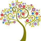 Árbol decorativo - 2 Fotos de archivo