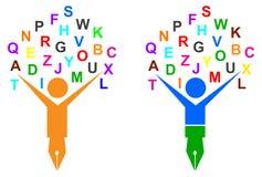Árbol del alfabeto Foto de archivo