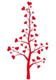 Árbol del corazón Fotos de archivo libres de regalías