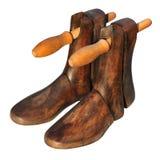 Árbol del zapato de la vendimia Imagenes de archivo