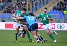 RBS 6国家2015年;意大利-爱尔兰, 3-26 库存照片
