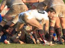 RBS 6 Nation-Rugby 2010; Italien A gegen England-Sachsen Lizenzfreies Stockfoto