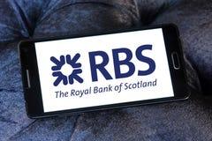 Rbs bank logo Royalty Free Stock Photography