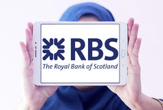 Rbs bank logo Royalty Free Stock Photography