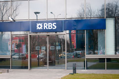 RBS branch Royalty Free Stock Photos