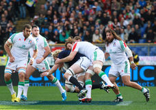 RBS 6 NATIONS 2014 - ITALY vs SCOTLAND; RICHIE GRAY Stock Image