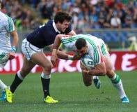 RBS 6 NATIONS 2014 - ITALY vs SCOTLAND; ROBERT BARBIERI. RBS 6 NATIONS 2014 - ITALY vs SCOTLAND (SCORE 20-21 Stock Photography