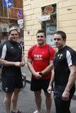 RBS sechs Nation-Rugby; Shane Williams von Wales Stockfotografie