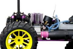 RC无线电控制汽车巨型卡车 免版税库存图片