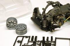 RC玩具汽车分开汇编 免版税图库摄影