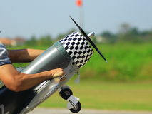 RC飞机 免版税图库摄影