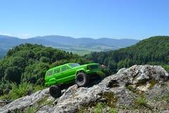 RC αυτοκίνητο αποστολής Στοκ Εικόνες