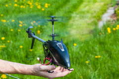 RC直升机 图库摄影