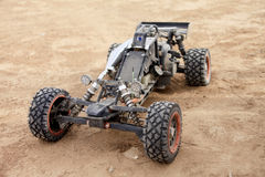 RC buggy in the desert Royalty Free Stock Photo