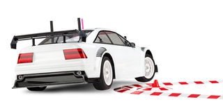 Rc car racing Royalty Free Stock Images