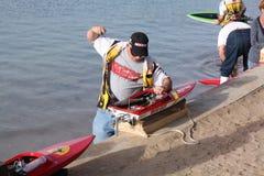 RC de Raceauto van de boot Stock Fotografie