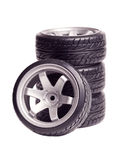 RC drift tires & rims Royalty Free Stock Photo