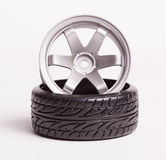 RC drift tires and rims Stock Photography