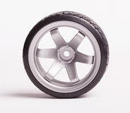 RC drift tires and rims Stock Photo