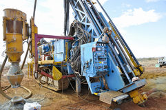 RC Drill Rig Stock Photography