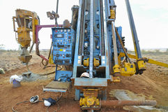 RC Drill Rig Royalty Free Stock Photo