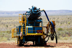 RC Drill Rig Stock Images
